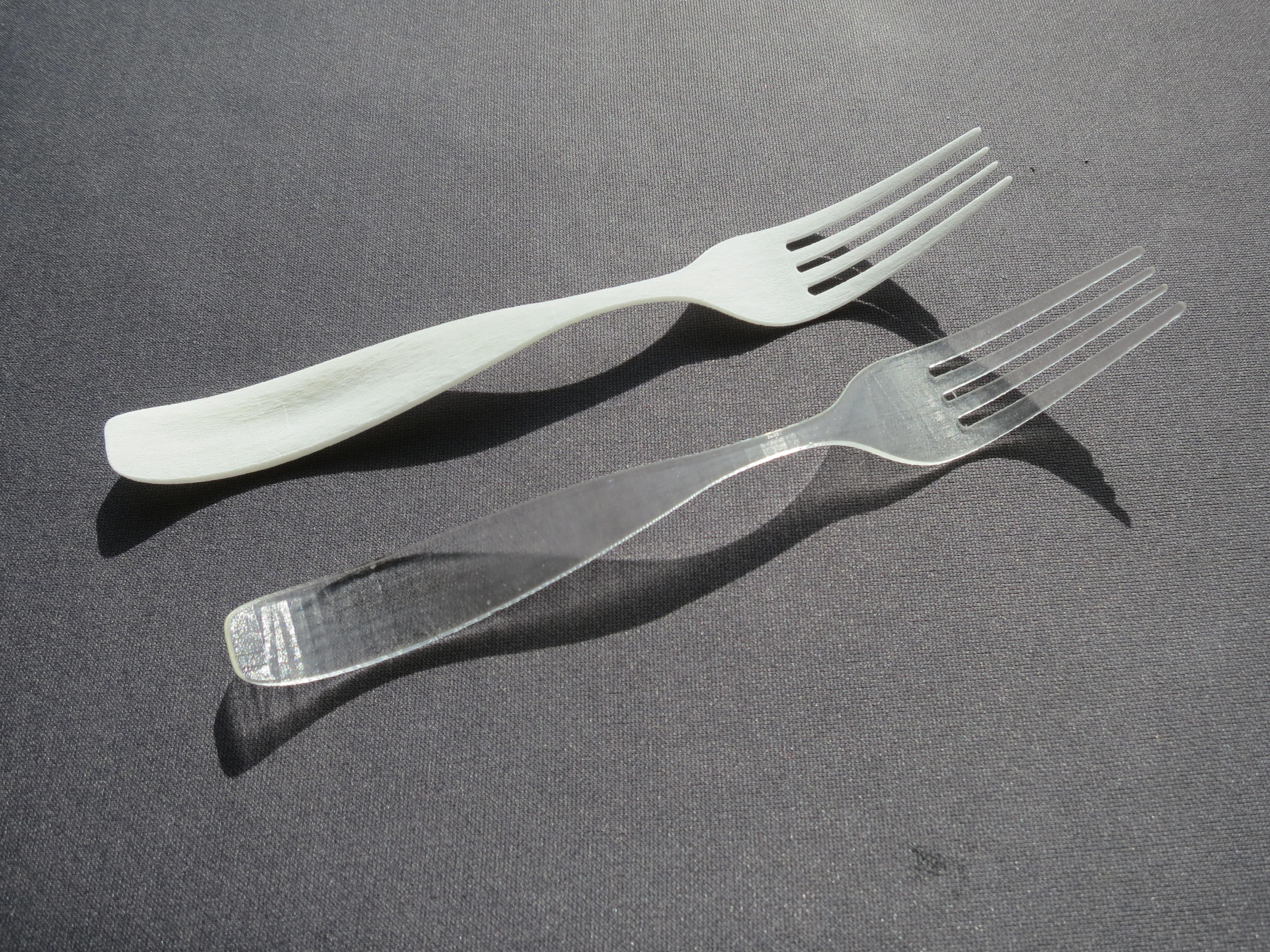 3D modeling a Fork for 3D printing