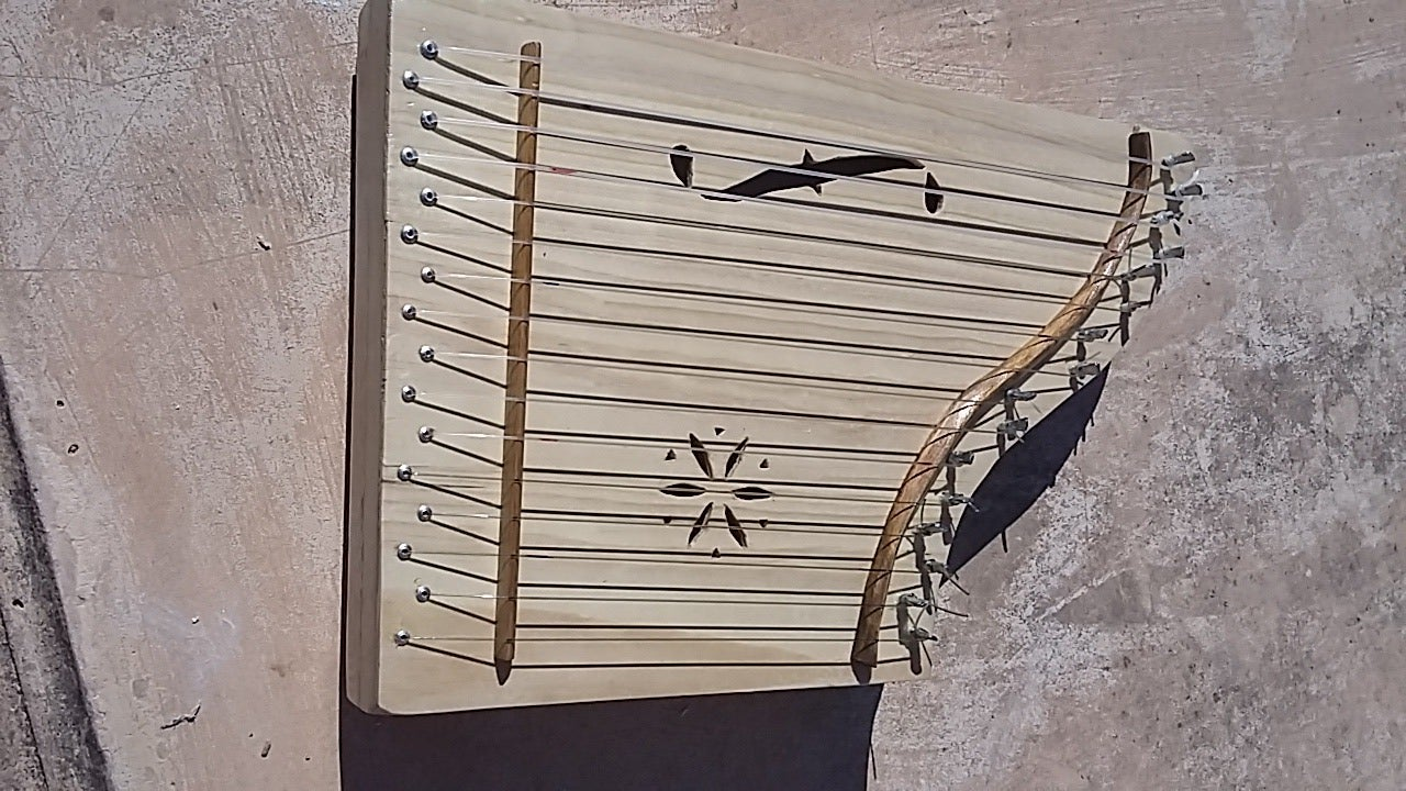 Lap Harp, Psaltery