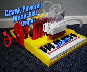 Crank-Powered, Music Roll Organ