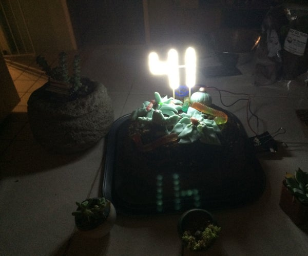 LED Birthday Cake Billboard