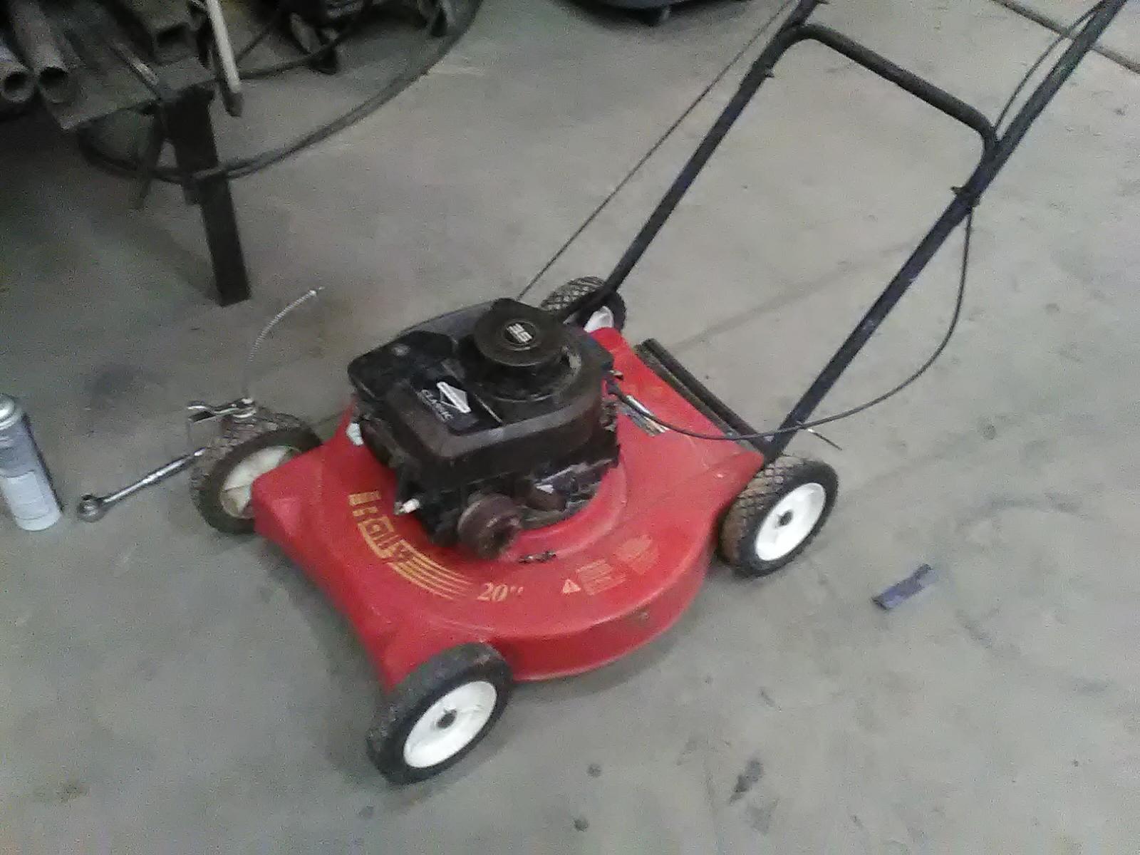 Spring Time Push Mower Maintenance