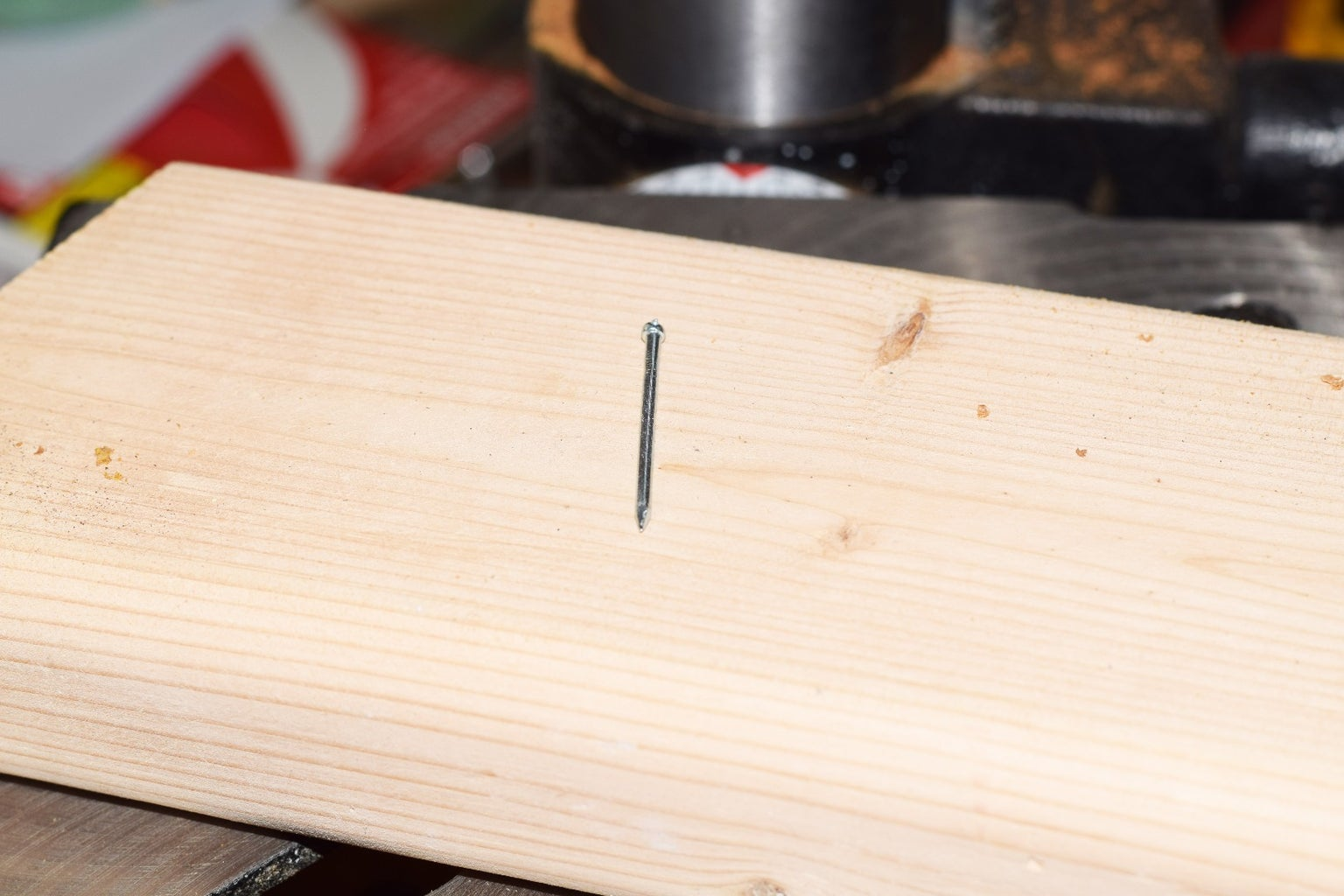 Drill Hole for Guide