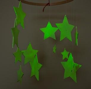 Glow-in-the-dark Star Mobile