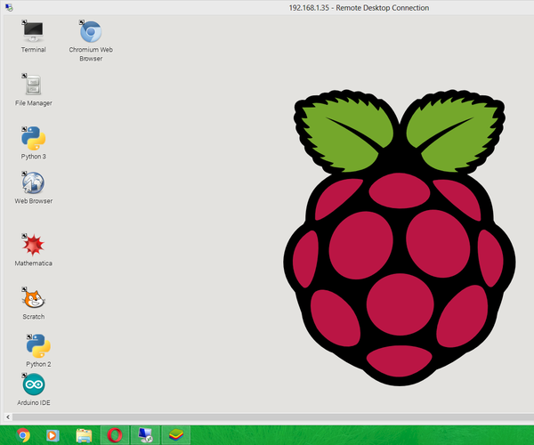 How to Control Your (GUI Mode) Raspberry Pi 2 With Ethernet From Windows PC