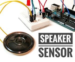 DIY Shock Sensor With a Speaker