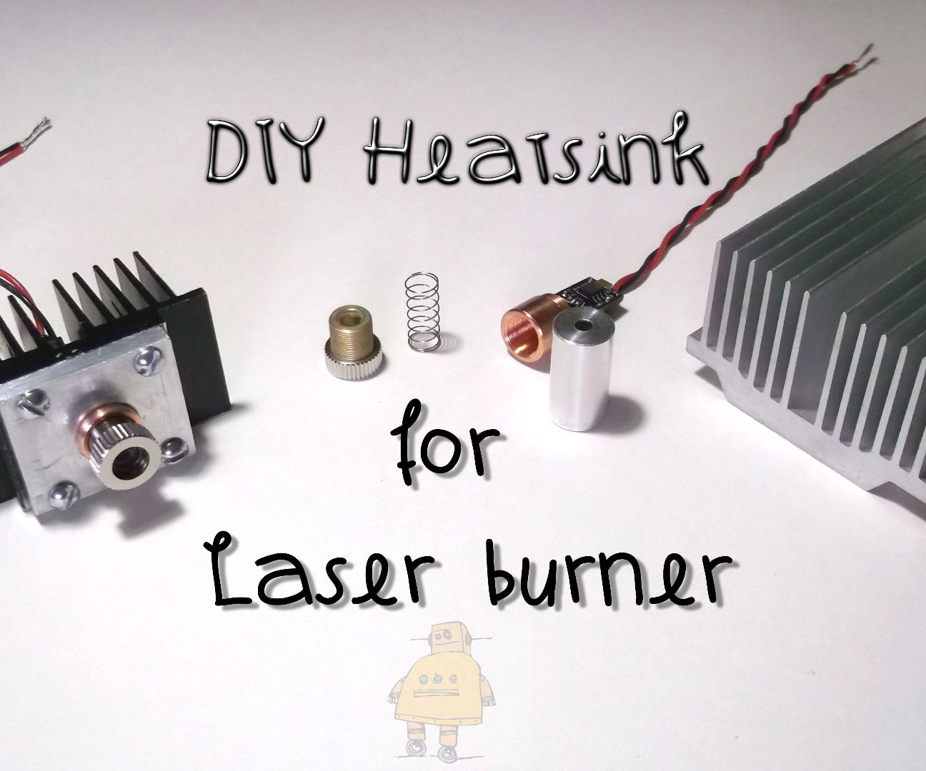 Heatsink for Diy laser engraver
