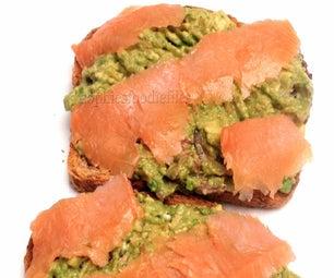 Smoked Salmon Avocado Toasts