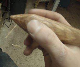 How to Make a Oversized Hickory Pencil!!!