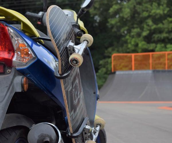 Motorcycle Skateboard Rack