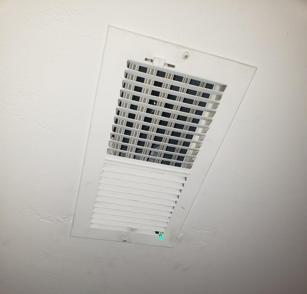 Mounting the Proximity Sensor and Garage Open LED Indicator