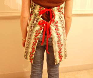 Adorable Apron in 10 Minutes!