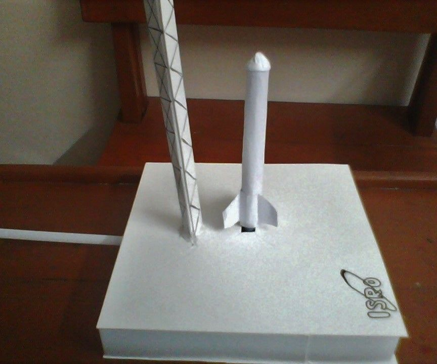 Air Powered Rocket Launcher Toy