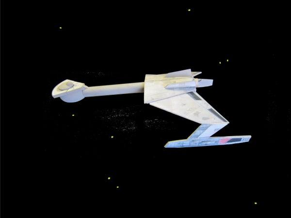 Klingon Battle Cruiser Sports Scale Rocket Workshop