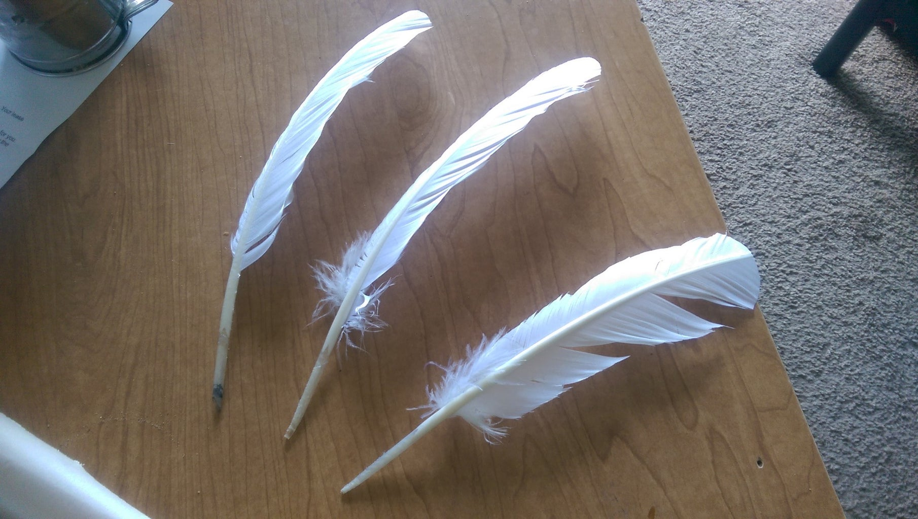 Preparing Your Quill Before Tempering
