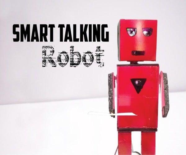 Easy to Make Talking Humanoid Robot!