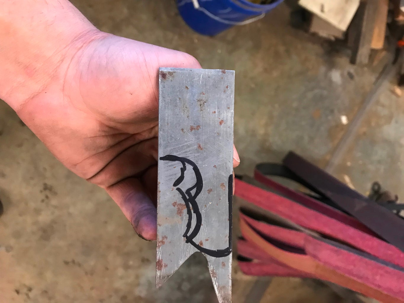 Gather Your Steel and Draw the Design