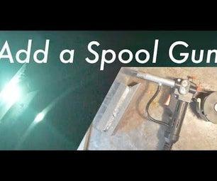 在Mig焊机上增加管式焊枪焊接铝