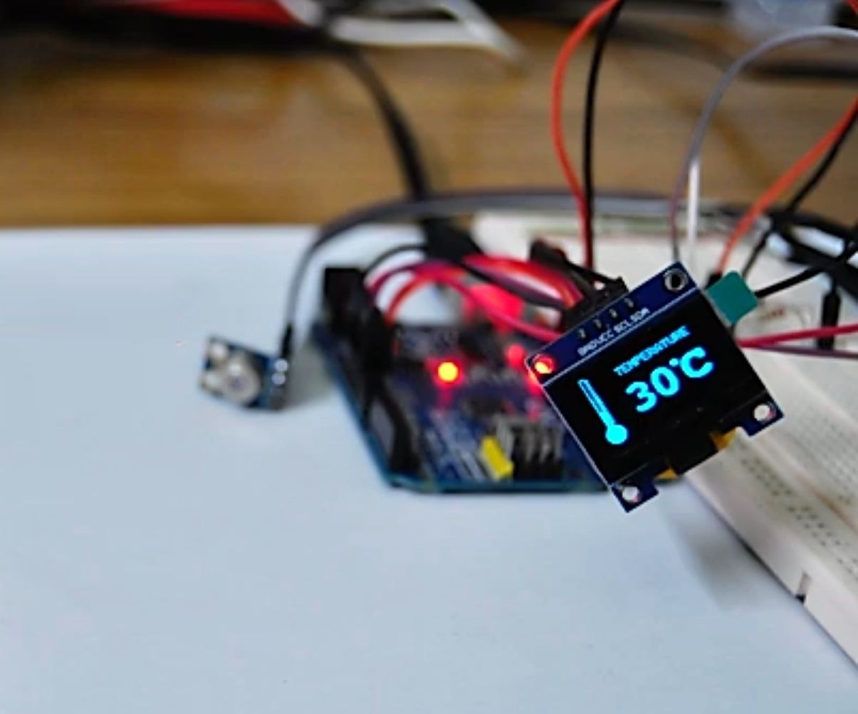 Arduino Based Non Contact Infrared Thermometer   IR Based Thermometer Using Arduino