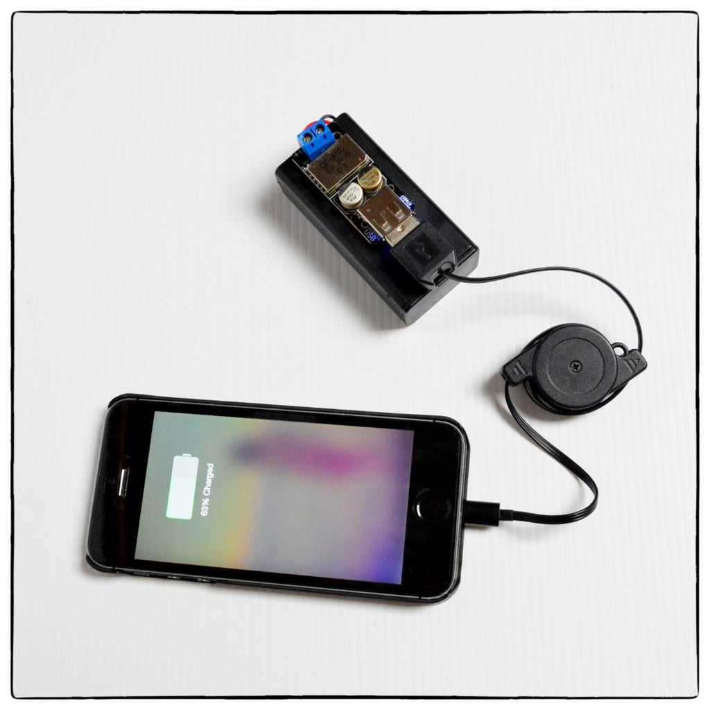 Super Simple Phone Charger
