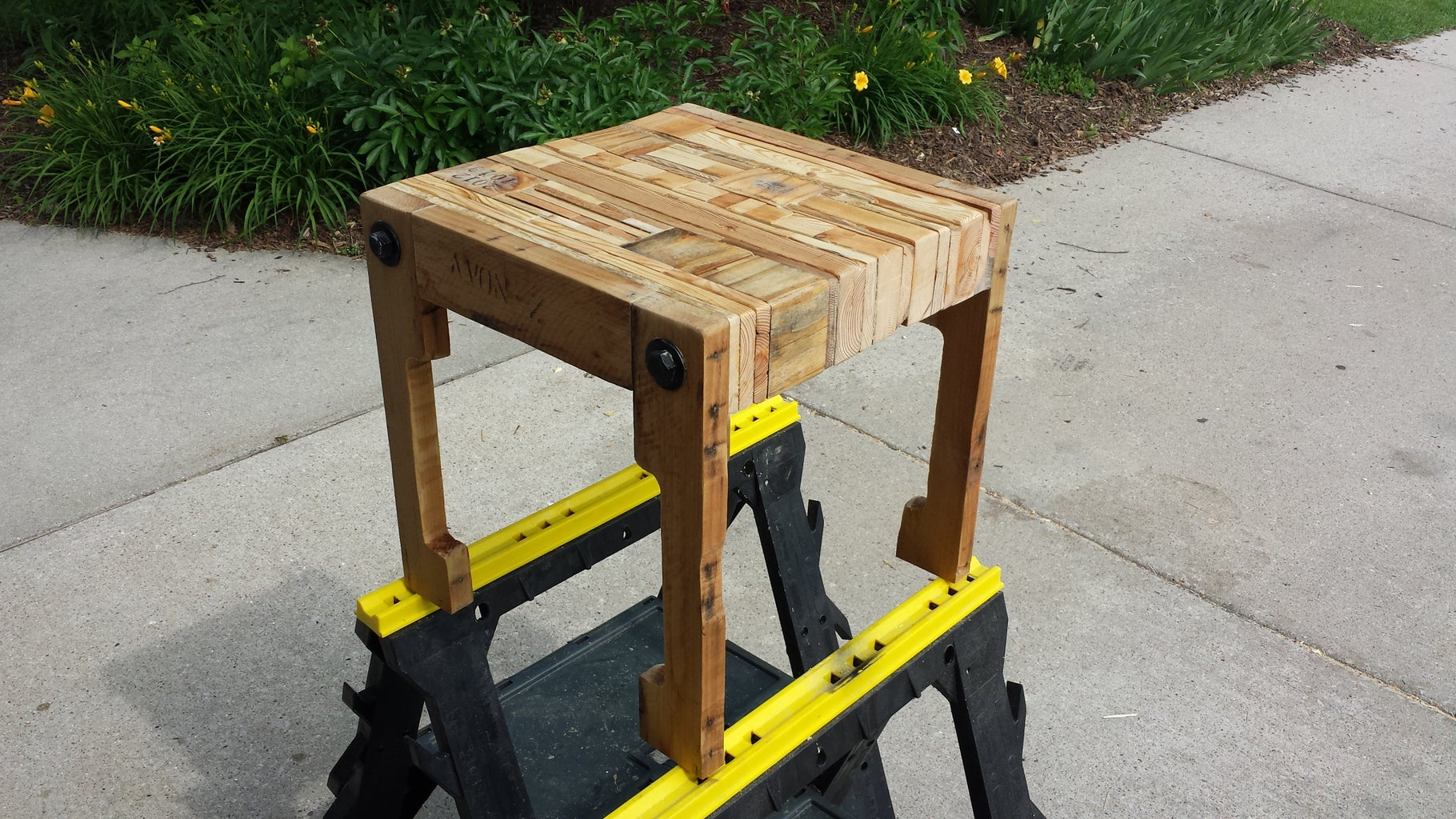 Sanding and Staining