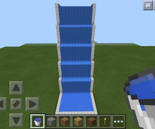 Awesome Minecraft Waterslide