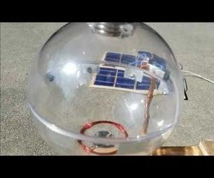 Levitator / Motor, Solar Powered