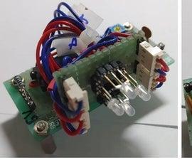 CD4017基多多功能自行车背光