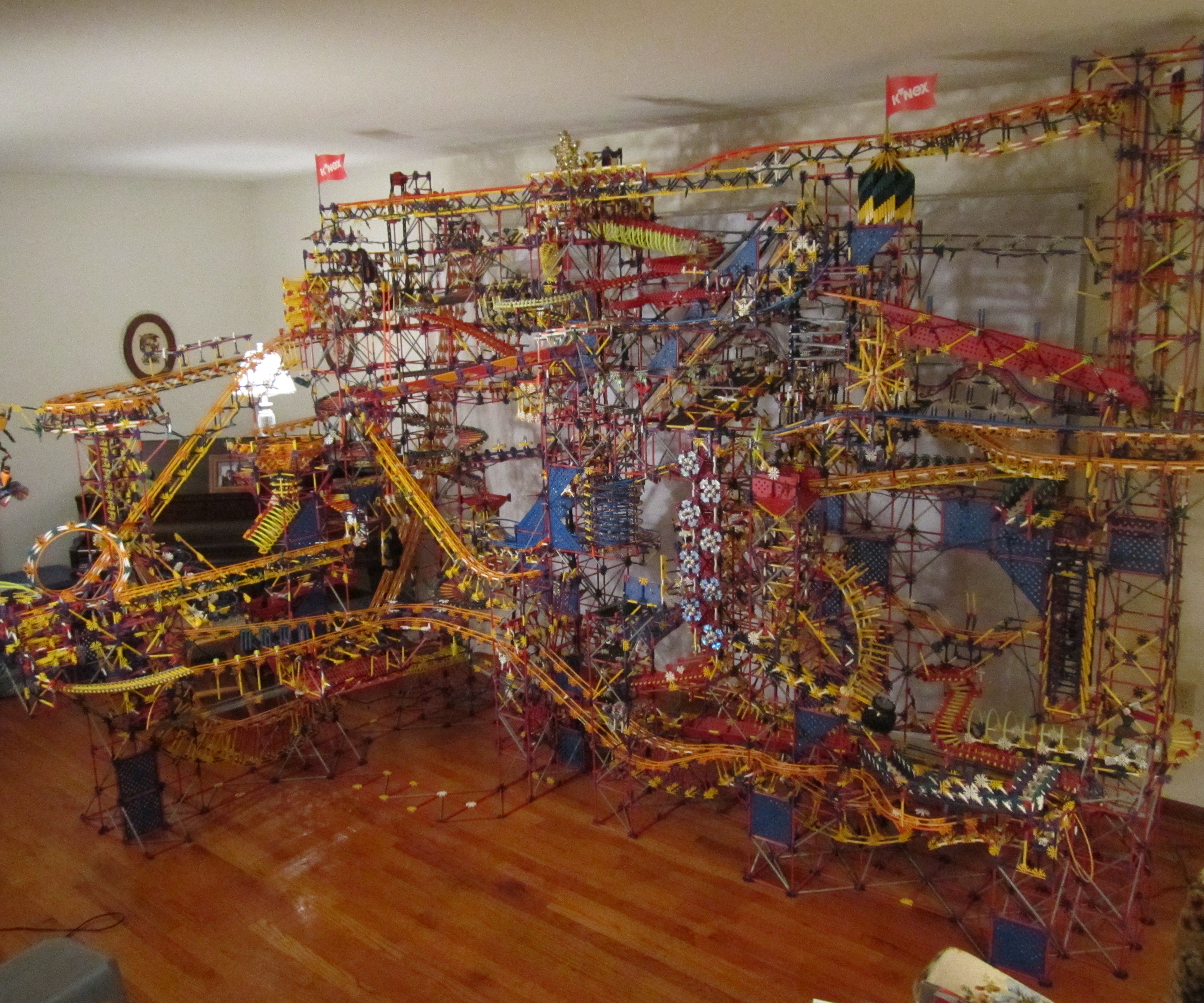 K'nex ball contraption- The Prize