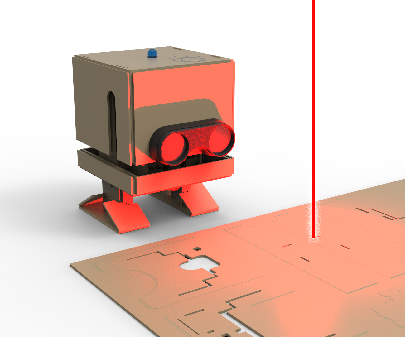 Build TJ Bot out of Cardboard