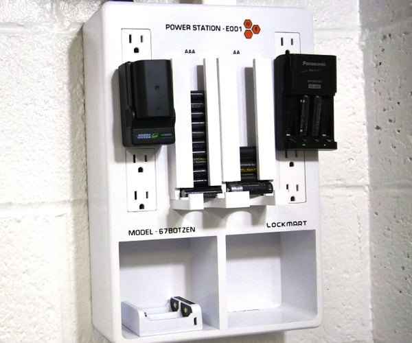 Battery Charging Station and Holder