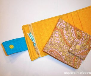 Wallet Sewing Pattern and Tutorial