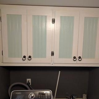 Laundry Room Cabinets. DIY.