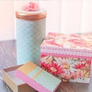 Fabric Covered Containers