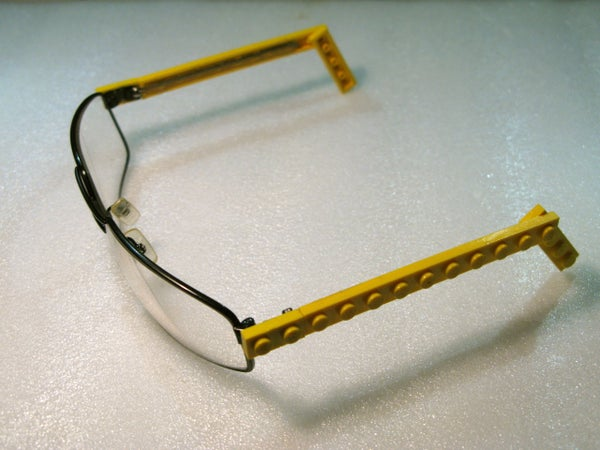 Refashion Glasses With Lego