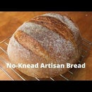 How to Make EASY No-Knead Artisan Bread