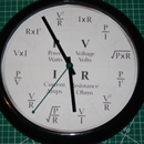 Ohms Law Clock