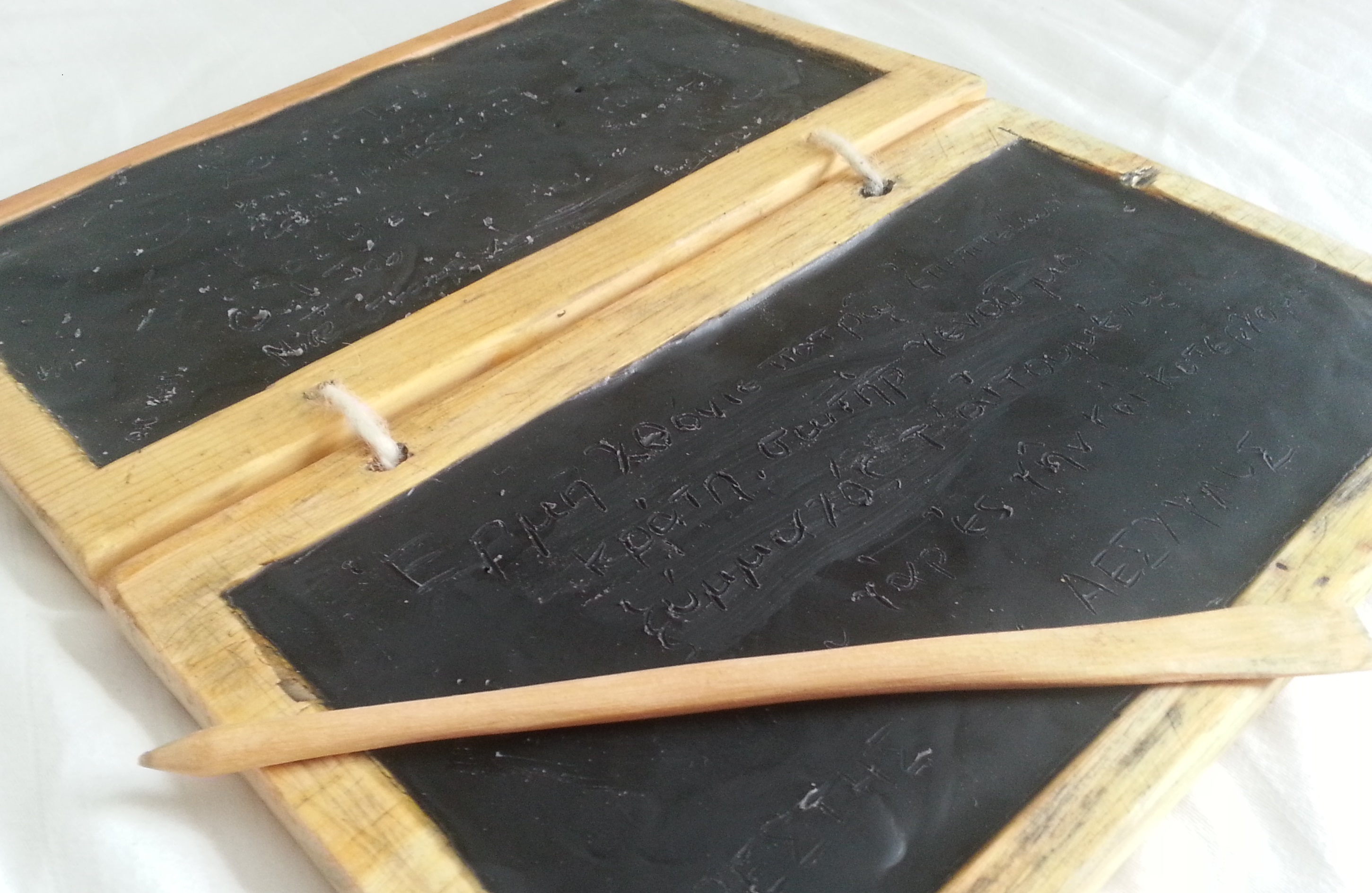 The original iPad: Diptych