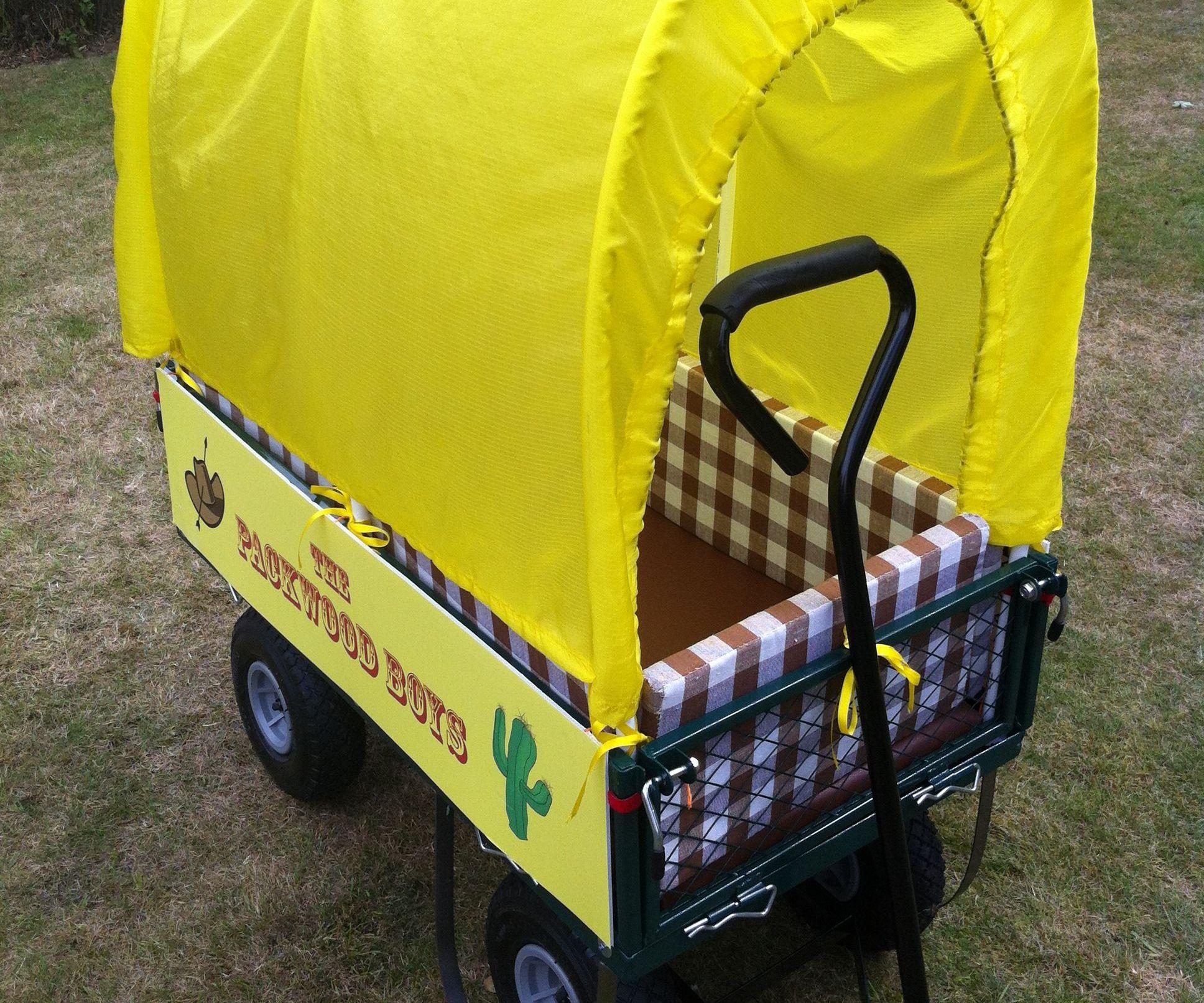 Kids' Covered Wagon