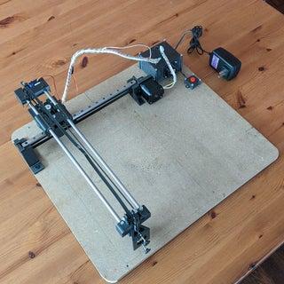 Easy 3D Printed Arduino CNC Drawing Machine