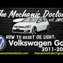 How to Reset Oil Life: Volkswagen Golf 2011, 2012 - 2016