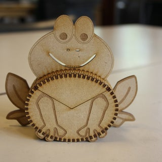 Generating Elliptical Boxes Using a Laser Cutter and Inkscape
