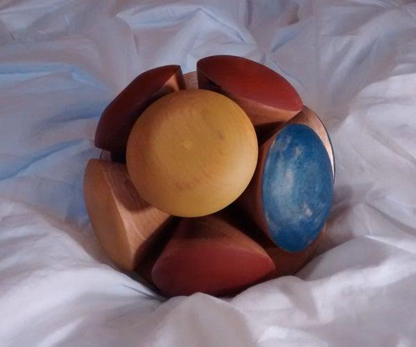 Handmade Wooden 'smashy' Ball