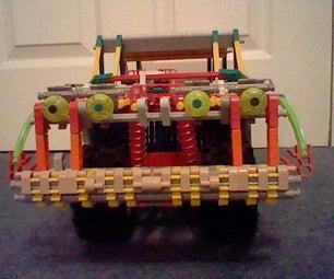 Knex Rally Car Suspension Mods.