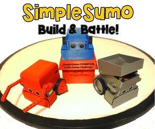 SimpleSumo- Educational Fighting Robots!