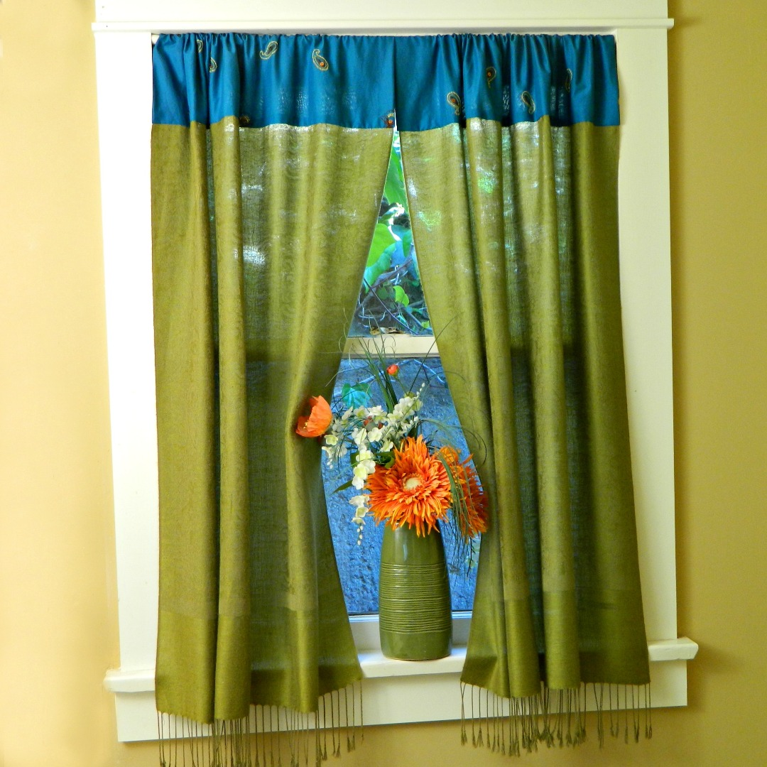No Sew Boho Curtains 5 Steps With Pictures Instructables