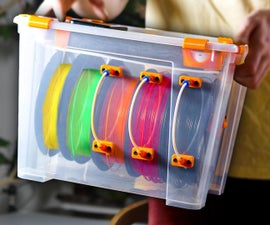 3D Filament Storage Box (in an IKEA SAMLA Box)