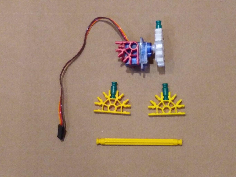 Build the Servo Assembly