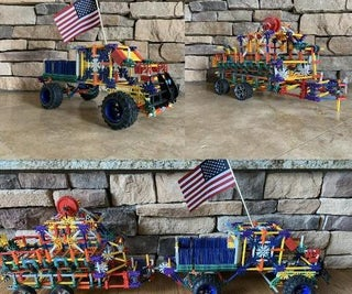 Knex Ford F-350 With Boat and Boat Trailer
