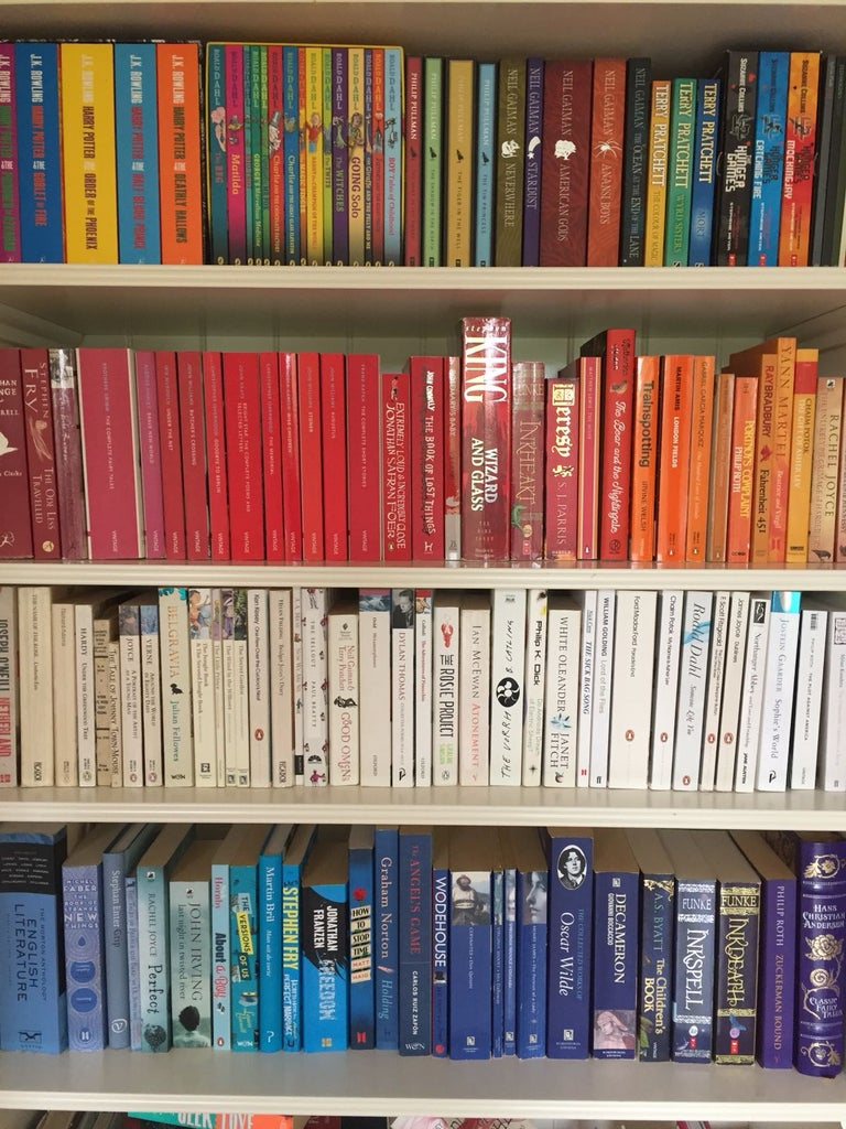 How to Organise Your Bookcase