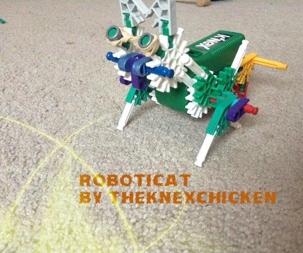 K'NEX Walkerbot: Roboticat (Robotic Cat) Instructions